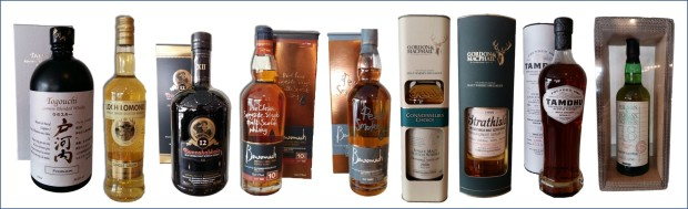 Image 9 whiskies